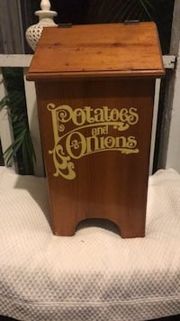 Wooden Bin for Potato and Onions Mount Pleasant, 29464
