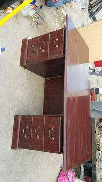 brown wooden dresser with mirror Laredo, 78043