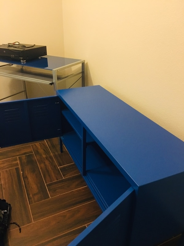 Student Desk and Locker-Style Cabinet 3606be1f-6b54-4372-805e-5be5cf2234be