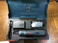 Black and blue bosch cordless drill kit Vienna, 22180