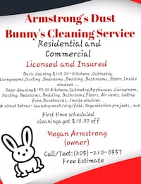 HOUSEKEEPING * SPECIALS  Tuscaloosa