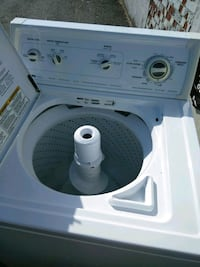 white top-load clothes washer Silver Spring, 20906