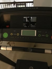 black Gold's Gym treadmill control panel