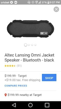 Altec Lansing OMNI JACKET Bluetooth speakers