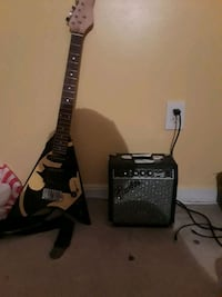 black and gray electric guitar Fort Washington, 20744
