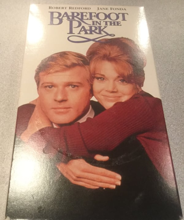 Barefoot In The Park VHS TAPE ee8ea563-11a3-44ae-a9e5-0afe8d3d6c27