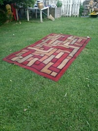red and brown area rug Middletown, 45044