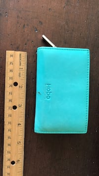 Teal leather hobo wallet San Francisco, 94114