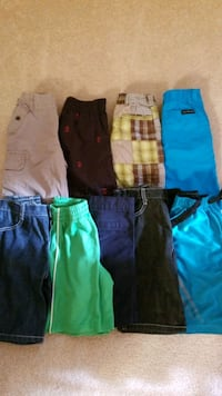 Size 5 /6 boys shorts and tops, gently used Freehold, 07728