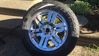 Ford truck tire and rims  Mission, V2V 2L7