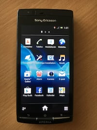 svart Sony Xperia android smartphone Asmundtorp, 261 75