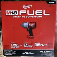 """M18 FUEL™ 1/2"""" High Torque Impact Wrench w/Friction Ring (Tool Only)"""