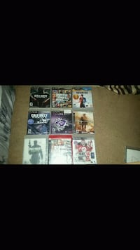 assorted PS3 game case lot London, N6K 1M1
