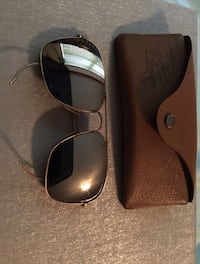 Vintage Bausch & Lomb RAY BAN GOLD PLATED AVIATOR Sunglasses Fort Worth, 76140
