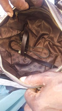 borsa Louis Vuitton in pelle marrone