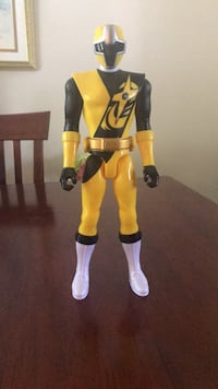 Yellow ninja steel power ranger  Smithtown, 11787