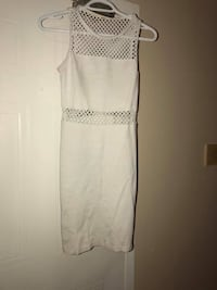 Women's white sleeveless sheath dress Hull