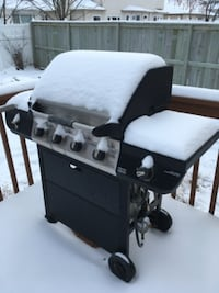 black and gray gas grill BURNABY