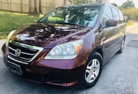 2007 Burgundy Honda Odyssey // Drives Excellent  Silver Spring