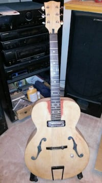 1954 Silvertone Archtop Huffman, 77336