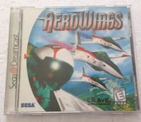 Aerowings Sega Dreamcast Video Game CIB
