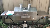 Holland smoker grill, has 2 side burners, excellent condition  Riverhead, 11901