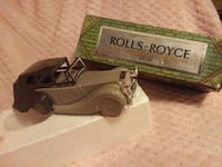 "Avon Rolls Royce ""Deep Woods After Shave"" NFL. OZ  Brunswick"