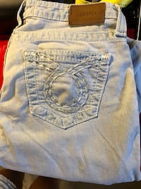 Silver jeans from The Buckle Canton