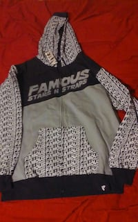 brand new 2x famous stars and straps hoodie