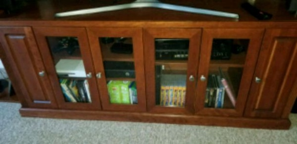 Large Entertainment Center can fit a 70 in. TV