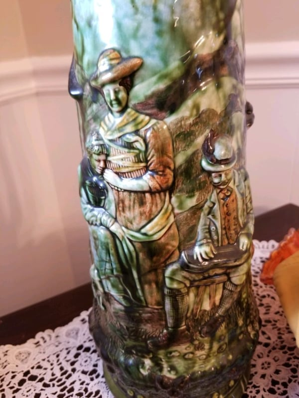 German Beer Stein 19 inch tall 5