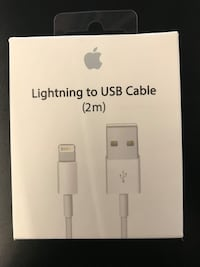 Apple lightning to usb cable 2 mt