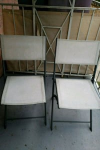 2 outdoor chairs (negotiable) Arlington, 22203