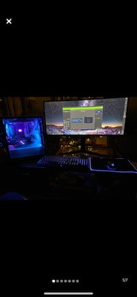 """34"""" Lg curved 2k 144hz gaming pc monitor"""