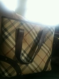 400 O.B.O. Authentic Burberry Tote Bag