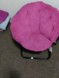 pink and black moon chair Baltimore, 21213
