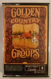 Reader's Digest Golden Country Groups, Tape 3 - Audio Cassette Tape 4- Newmarket