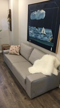 Ikea Kivik grey sofa - great like new condition Toronto, M6P 1S3