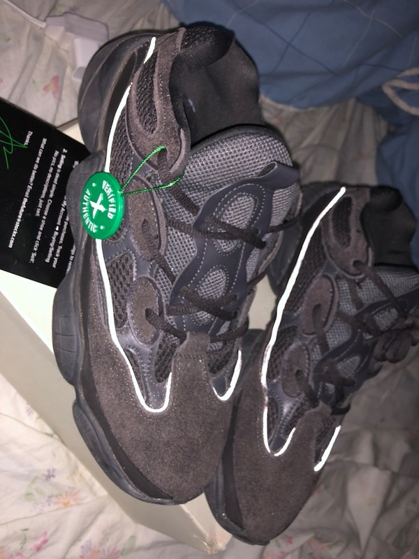 73ea6e5db Used yeezy 500 black for sale in New York - letgo