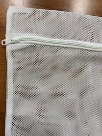 """New mesh bags w/zipper 10""""x10""""very useful for laundry,makeup,etc. 2x$1"""