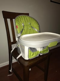 Fisher price 4 in 1 high chair. Picture is of booster option. Purchased last year for 128 at target Arlington, 22206