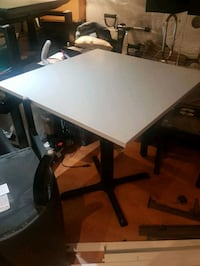 Formica laminate table with  glass cover  Vaughan, L4H 2E7