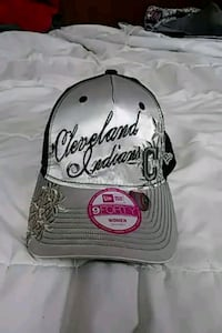 Gray and black Cleveland Indians cap Cleveland, 44127