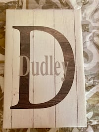Dudley canvas wall decor