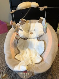 Baby's white and gray bouncer Obetz, 43125