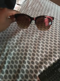 black and red framed sunglasses Baltimore