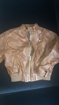 Faux Leather Jacket for Boys(Size5/6) Toronto, M4P 0A4