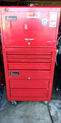 red Snap-On tool cabinet Tucson, 85706