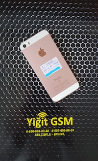 IPHONE SE 16GB GOLD GARANTİ YOK Selçuklu