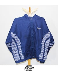 blue and white zip-up jacket Brampton, L6V 2T6